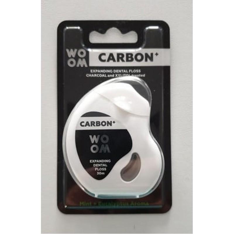 Nić WOOM Carbon+ 30 m - antybakteryjna nitka