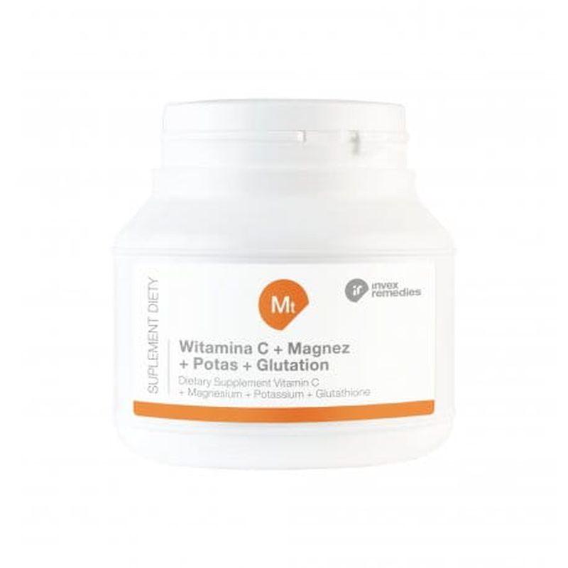 Suplement diety Mt Witamina C+ Magnez+ Potas+ Glutation 150g