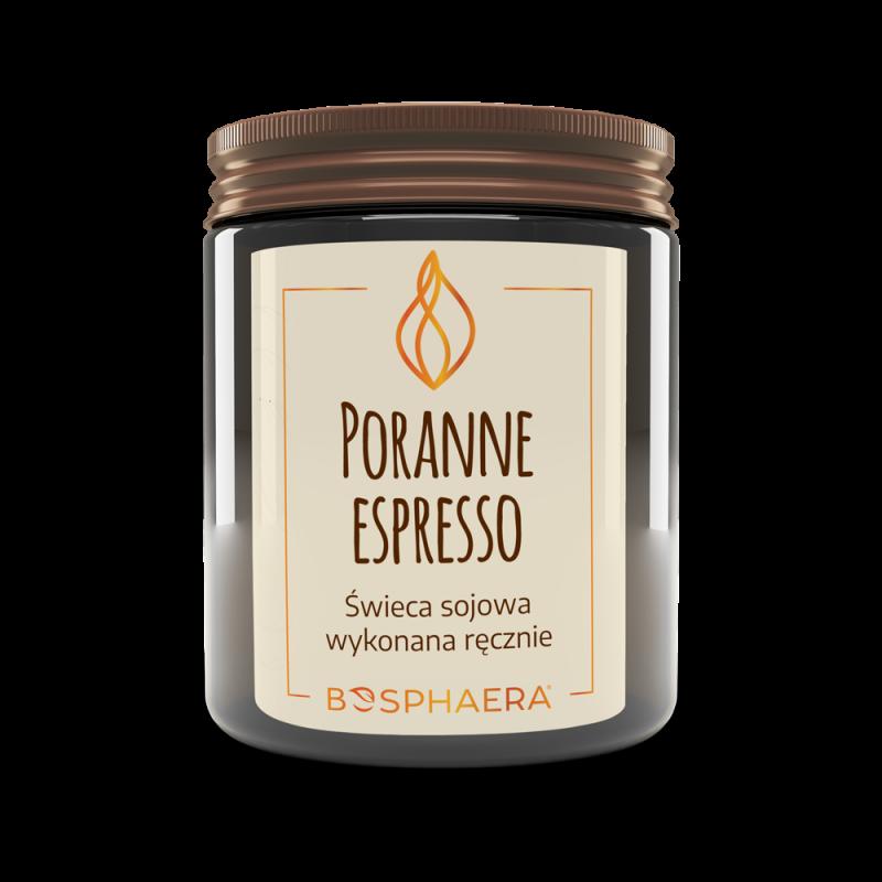 Sojowa świeca zapachowa Poranne espresso
